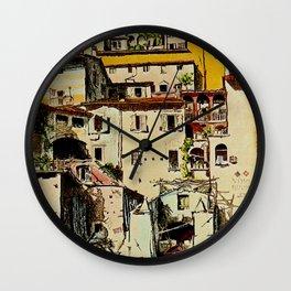 Vintage Tessin Schweiz - Ticino Switzerland Travel Wall Clock