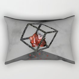 Rose Fluorine Rectangular Pillow
