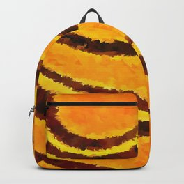 Pop Art Tiger Stripe Animal Print Backpack