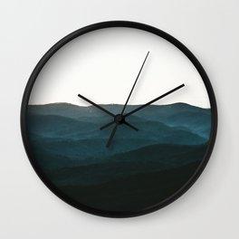 North Georgia Mountains 3 Wall Clock