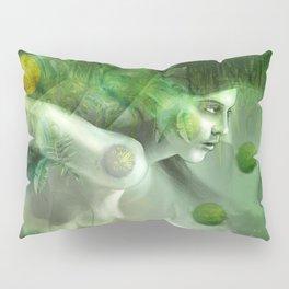 """Aquatic Spring Girl"" (2018 Version) Pillow Sham"