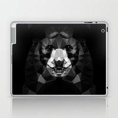 Bear - Black Geo Animal Series Laptop & iPad Skin