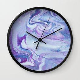 Lavender Haze Wall Clock