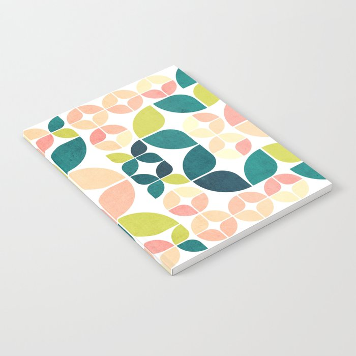 Rose Garden Pattern Notebook