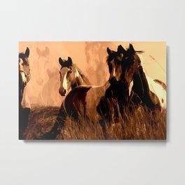 Horse Spirits Metal Print