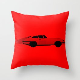 Sports Car Throw Pillow