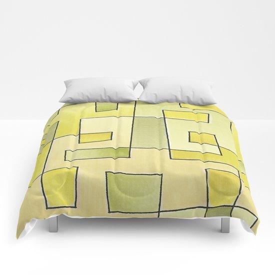 """Proto pattern n 2 """"fresh lemonade"""" Comforters"""