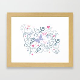 Butterfly Soul Framed Art Print