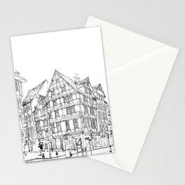 Minimal Line Settlement 4 Stationery Cards