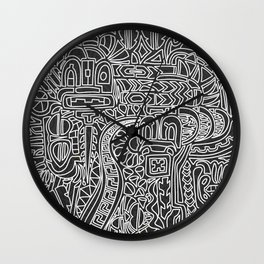 Random Totem Wall Clock