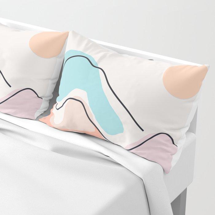Minimalistic Landscape III Pillow Sham