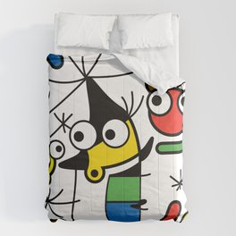 Ooh Zoo – art-series, Miro Comforters