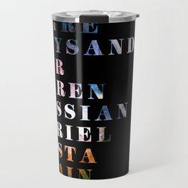 The Circle Travel Mug