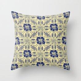 Contemporary_Paradise Throw Pillow