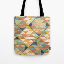 Triangles and Circles Pattern no.23 Tote Bag