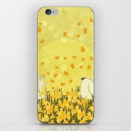 Yellow Effervescence iPhone Skin