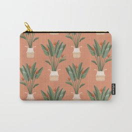Bird of paradise in a basket pot Carry-All Pouch