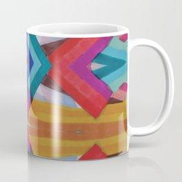 Striped Mosaic Coffee Mug