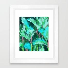 Palm Forest Framed Art Print