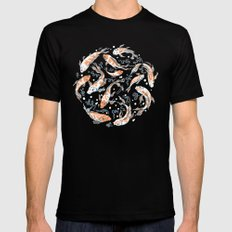 Don't Be Koi Mens Fitted Tee MEDIUM Black