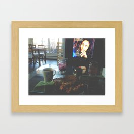 Sunday Mornings Framed Art Print