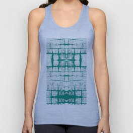 Faded Japanese Shibori Unisex Tank Top