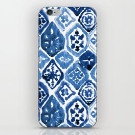 Arabesque tile art iPhone Skin