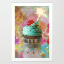 Cirque du Cupcake V Art Print