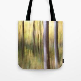 Morning Blur Tote Bag