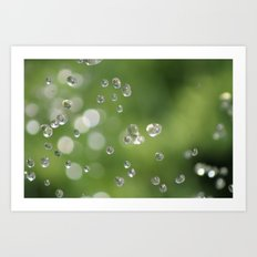 Going Green - One Drop At A Time Art Print