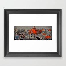 2011 London Riots Framed Art Print