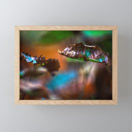 Autumn moments Framed Mini Art Print