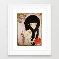 Amanita - Mushroom Death Framed Art Print