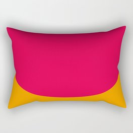 Cilindric Cartilage of someone, don't know who. Purple Background. Rectangular Pillow