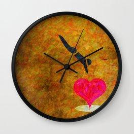 Jumpin' Love Wall Clock