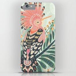 Hoopoe Bird iPhone Case
