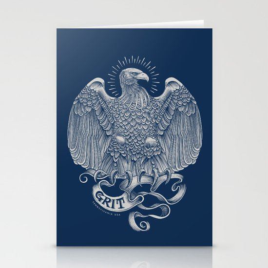 Grit Eagle Stationery Cards