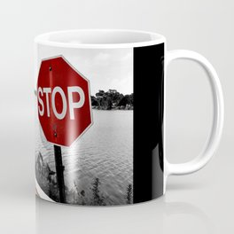 Iterations of a Stop Sign #2: Desaturate Coffee Mug