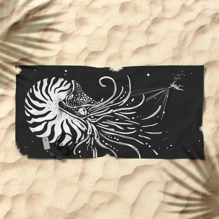 Nautilus Dominus Beach Towel
