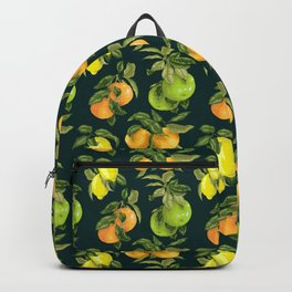 Cirtrus branches vintage custom pattern Backpack