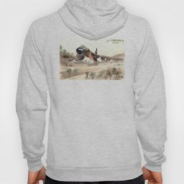 A-7 Corsair jet attack airplane in low level flight Hoody