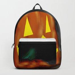Smiling Pumpkin Backpack