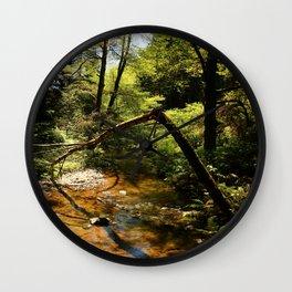 Muir Woods Impression Wall Clock
