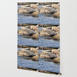 Stone Channels Wallpaper