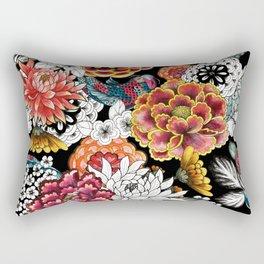 Asian traditional print Rectangular Pillow