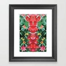 Flor Framed Art Print