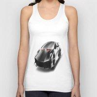 lamborghini Tank Tops featuring Just a Lamborghini by Ispas Sorin