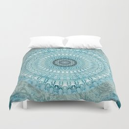 Mandalas of Atlantis Duvet Cover