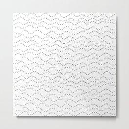Barbed Wire Pattern Metal Print