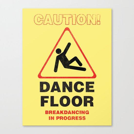 Cuation: breakdancing Canvas Print